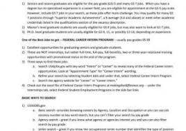 Federal Job Resume From Federal Job Resume Template Weeklyresumes