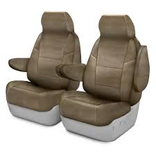 coverking rhinohide 1st row custom sand seat covers