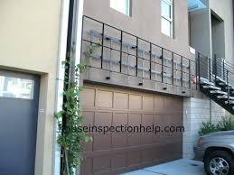 full image for iron trellis over garage door build pergola