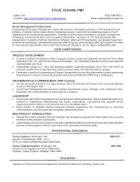 Effective Engineering Management Resume Sample And Core Competencies