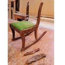 Restoring an Antique Childs Rocking Chair   Sunrise Woodwork