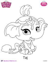 Small Picture Disney Princess Palace Pets Taj Coloring Page SKGaleana