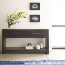 contemporary entry tables  home design inspiration