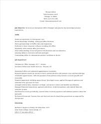 Chiropractic Resume Cool Cover Letter For Receptionist Office Assistant