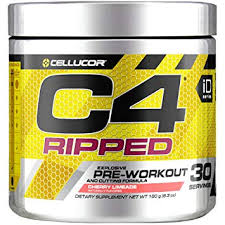cellucor c4 ripped pre workout powder energy drink for men women with green coffee bean
