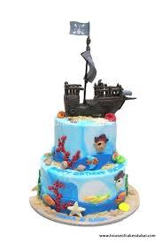 Pirate Ship Cake Dubai