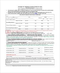 Sample Letter To Dmv Sample Dmv Change Of Address Form 8 Examples In Pdf