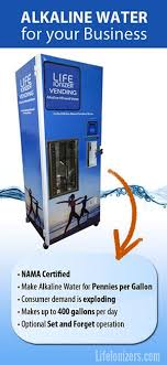 Vending Machine Business Pros And Cons Simple The Alkaline Water Vending Machine For Your Business Water Ionizers