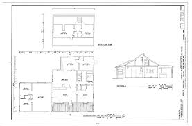 file main floor upper floor plans and section thomas murphy homestead house