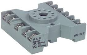 27e123 potter brumfield te connectivity relay socket panel potter brumfield te connectivity 27e123 relay socket panel screw 11 pins 10 a 240 vac