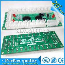 ps2 ps3 pc xbox360 pcb arcade joystick usb arcade joystick usb encoder borad to pc arcade