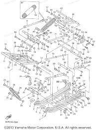 1991 yamaha phazer 2 wiring diagram and schematic