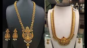 Josco Gold Jewellery Designs With Price Top 20 Latest Gold Long Haram Designs 2018