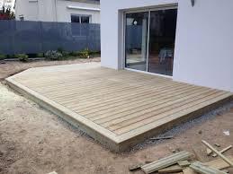 Nivrem Com Pose Terrasse Bois Sur Plot Beton Castorama