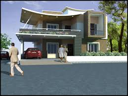 Contemporary Residential Building Facades Home Decor Waplag Modern - Online home design services