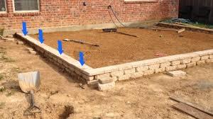 paver patio slope building a patio