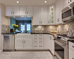 Kitchen Cabinets To Ceiling kitchen mesmerizing small kitchen with glass backsplash tiles 2028 by xevi.us