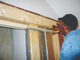 Pocket Door Retrofit Retrofitting A Pocket Door Jlc Online Carpentry Doors Interiors