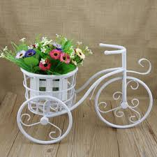 ... Enchanting Accessories For Garden Decoration With Bicycle Planter Stand  : Engaging Image Of Accessories For Vintage ...