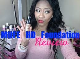 makeup forever hd foundation and matte velvet review
