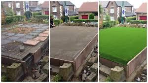 luxury lawn process
