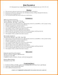 Basic Resume Templates Word Sample 24 2 Column Resume Template