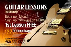 Guitar Lesson Gift Certificate Template Free Gift Certificate Template Guitar Free Gift Certificate Template