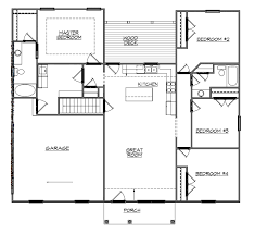 Lake House Plans Cottage Slope With Bat Walkout For Wide  LuxihomeWalkout Floor Plans