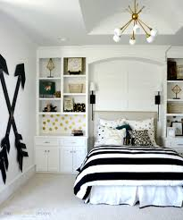 teenage girl bedroom wall designs. pottery barn teen girl bedroom with wooden wall arrows by two thirty~five designs teenage
