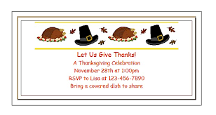 Free Printable Thanksgiving Invitations For Kids