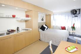 Image Tiny Space Micro Apartment With Open Design Also Interior Ideas Appealing Compact Furniture For Small Apartment By White Fifthla Surprising Compact Furniture For Small Apartments Fifthlacom