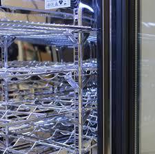 rhino 1 door heated glass door bar fridge wine shelving available on request