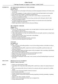 Checker Sample Resumes Checker Resume Samples Velvet Jobs 1