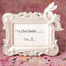 Resin Masquerade Mask Place Card Holder Photo Frame For