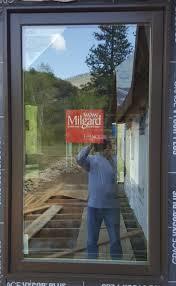 milgard essence casement color is bark glass is suncoatmax