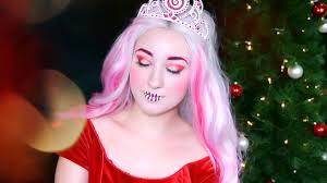 princess wade christmas colorful festive holiday kota makeup