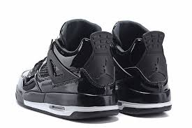 jordan 4 retro. air jordan 4 retro 11lab4 black patent leather all for sale-3