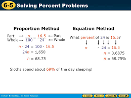 how to do percent equations jennarocca