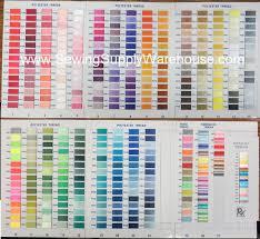Floriani Ftc360m Real Thread 360 Color Chart At Allbrands Com