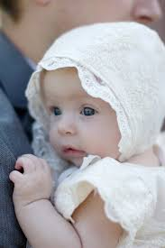 Baby Bonnet Pattern Mesmerizing Tutorial Lace Baby Bonnet Sewing