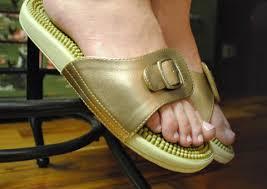 Happy Feet Slippers Size Chart Kenkoh Massage Sandals Happyfeet Com