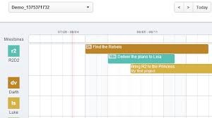 Gantt Chart Social Media Teamweek Creates Interactive Gantt Charts For Your Group