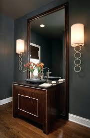 sconces living room wall sconce sconces for powder contemporary with black bowl sink image by