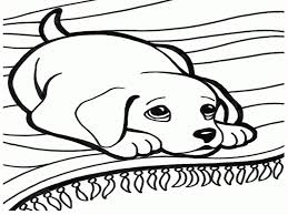 Small Picture Printable Coloring Pages Of Dogs Editable Blank For Dog glumme