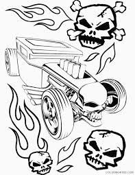 I believe that, that doraemon characters and other coloring pages can help to build motor skills of your kid. Hot Wheels Coloring Pages Hotrod Car Coloring4free Coloring4free Com