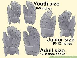 Bauer Hockey Gloves Size Chart How To Measure Hockey Gloves 14 Steps With Pictures Wikihow