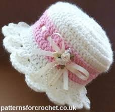 Free Crochet Patterns For Baby Hats Amazing Brimmed Baby Hat Free Crochet Pattern Cool Creativities