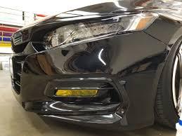 2018 Accord Fog Light Kit Fog Light Overlays Tint 2018 Accord Sedan