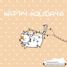 happy holidays snow gif. Beautiful Gif Happy Holidays Christmas Cat GIF Intended Snow Gif A