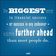 Financial Quotes Enchanting Thinking LongTerm The Secret To Financial Success TaxACT
